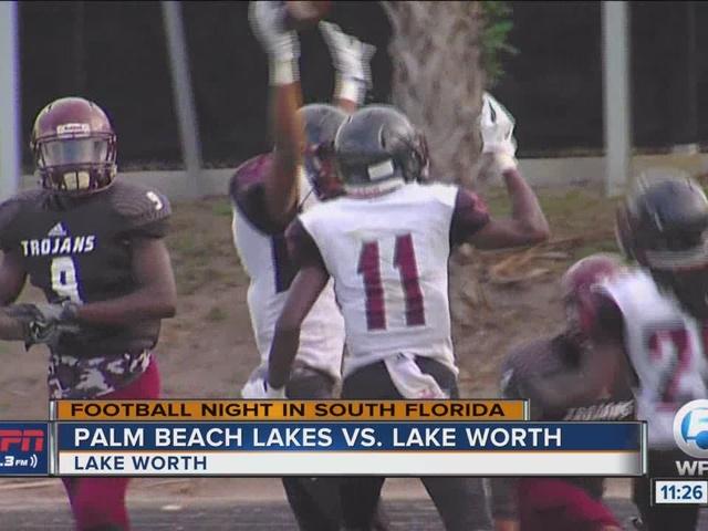 Palm Beach Lakes edges Lake Worth