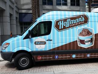 Hoffman's Chocolates has a new 'sweet' ride