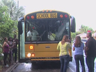 School bus hit by car in Lake Worth