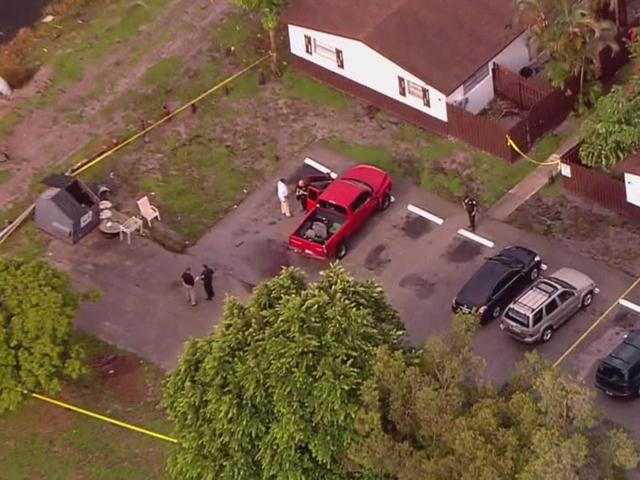PBSO investigating dead body in pickup truck
