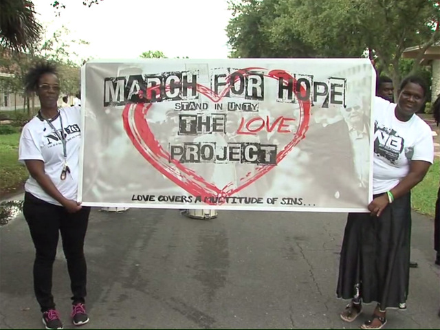March for hope in Delray Beach