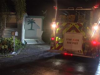 PBC Fire Rescue investigating mobile home fire