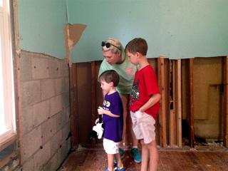 In flooded Louisiana city, recovery raises hope