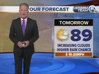 Latest forecast from Storm Team 5