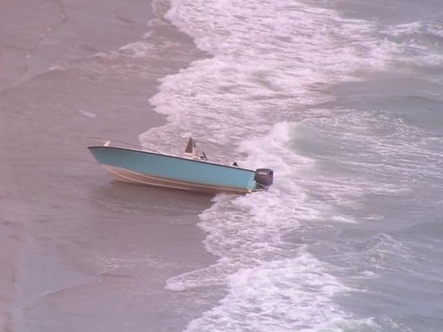 CHOPPER 5: Boat landing near MacArthur State Park