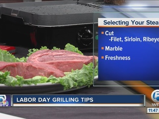 Labor Day grilling tips