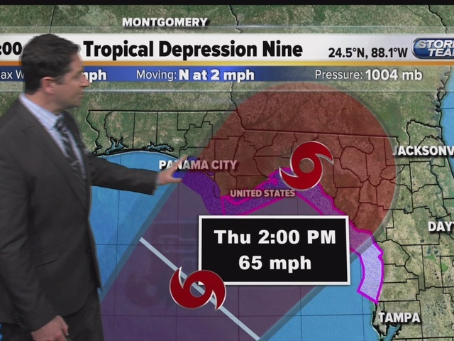 Tropical update Wednesday 5:40 a.m. (8/31/16)
