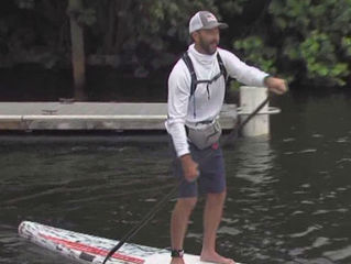 155-mile paddleboard trip helps homeless vets