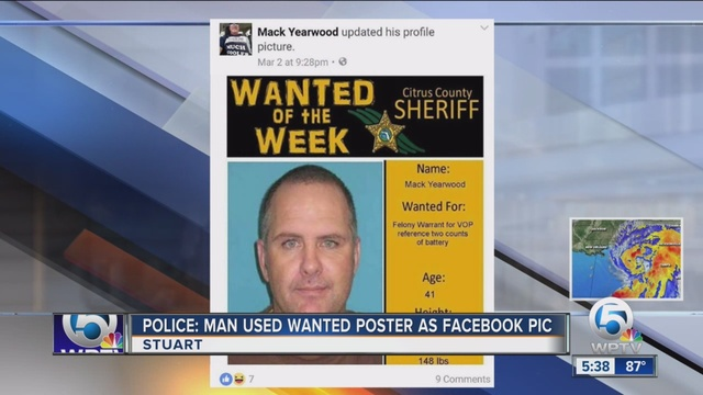How Facebook profile picture landed fugitive in jail