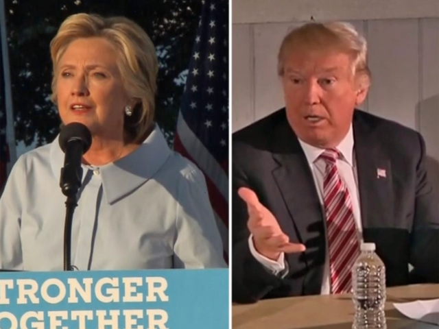 LIVE: Clinton, Trump debate