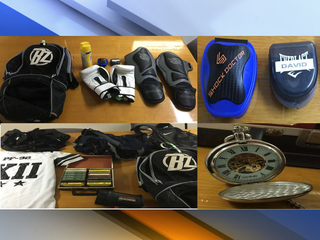 Police want to return recovered property