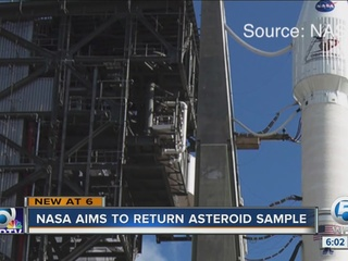 Locally made engine used in NASA launch
