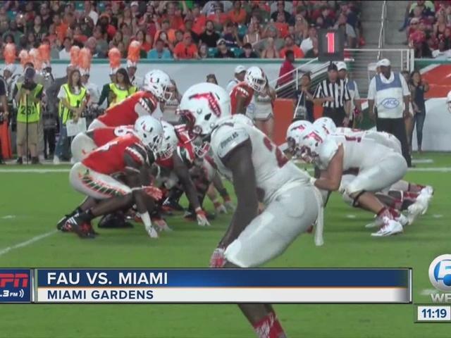 FAU falls to Miami