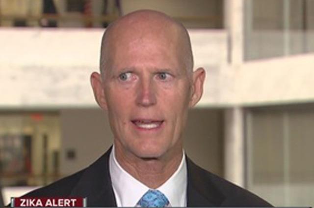 Gov. Scott in D.C. to push for legislation