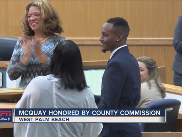 McQuay Honored By County Commission