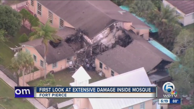 Authorities: Arrest made in arson fire at Florida mosque
