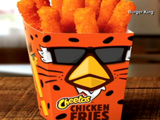 Cheetos Chicken Fries coming to Burger King