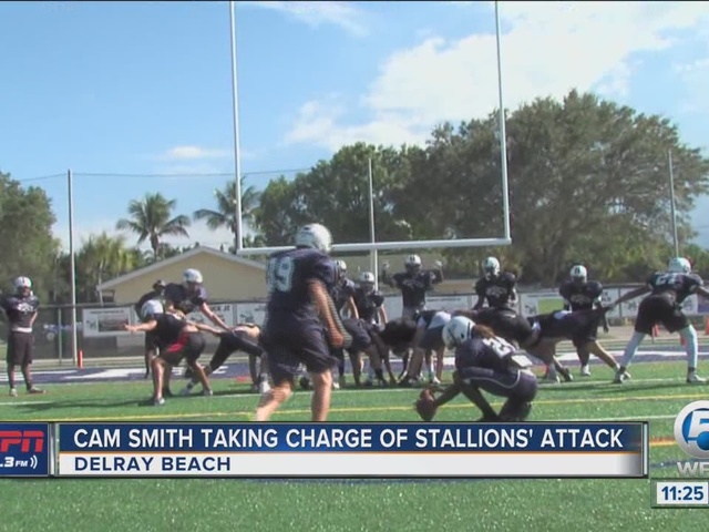 Cam Smith Taking Charge of Stallions' Offense