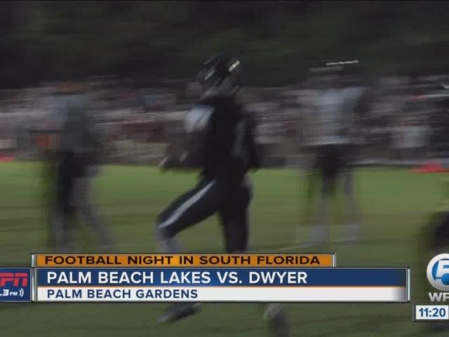 Dwyer cruises past Palm Beach Lakes