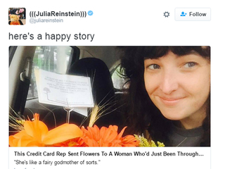 Woman having rough week receives kind gesture