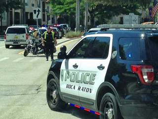 Police called after shot fired in Boca Raton