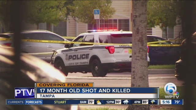 Tampa Toddler Fatally Shot at Apartment Complex