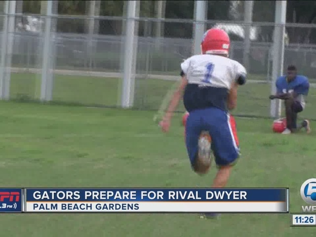 Gators Prepare For Football Night In South Florida