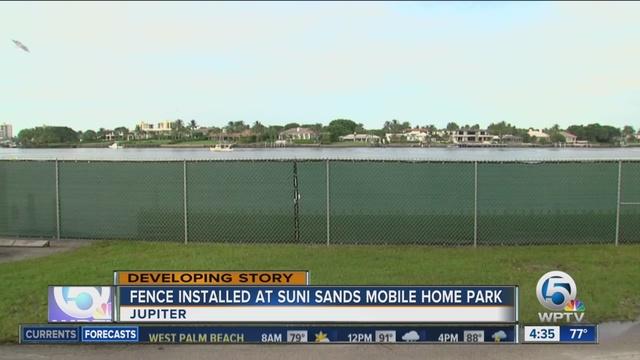 Residents Express Frustration Concern After Fence Is Placed At Suni Sands Mobile Home Park