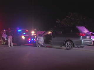 Elderly man leads police on low speed chase