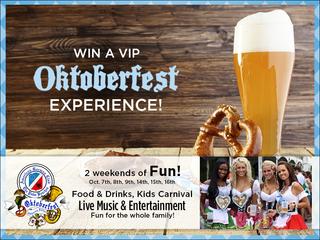 Win a VIP Oktoberfest experience!