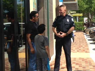 'Coffee with a Cop' in West Palm Beach