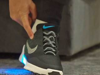 Nike's self-lacing shoes available soon