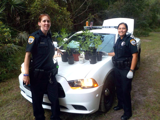 Cops find pot plants, leave note for owner
