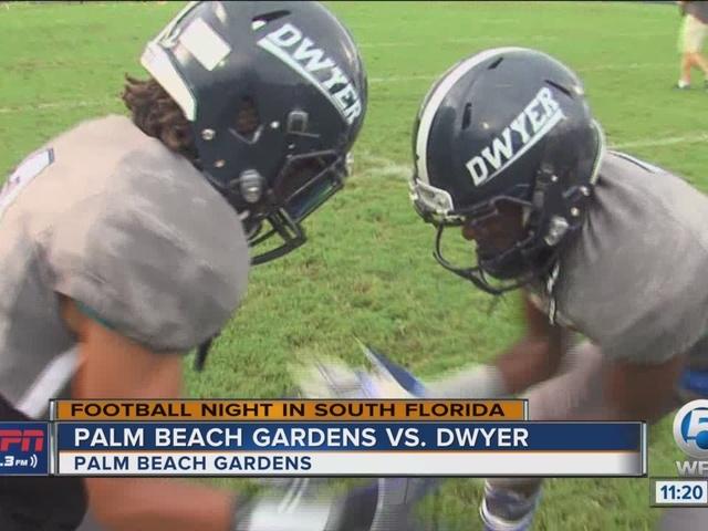 Dwyer edges Palm Beach Gardens