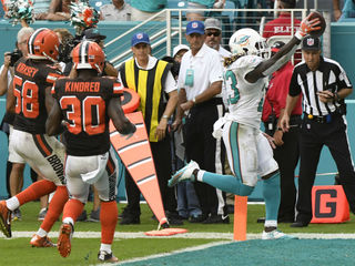 Dolphins defeat Cleveland Browns in OT 30-24