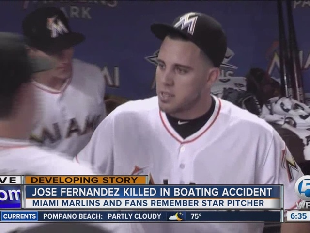 Memorial grows outside of Marlins Park after loss of Jose Fernandez
