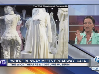 Wick Theatre opens Broadway fashion exhibit
