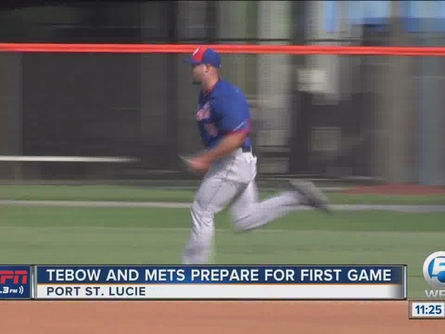 Tebow Gets Set For First Game