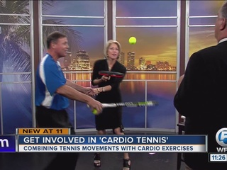 'Cardio Tennis' with Mike May