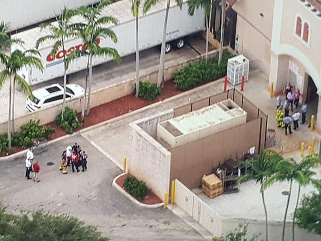 Costco in Boca Raton evacuated after AC leak