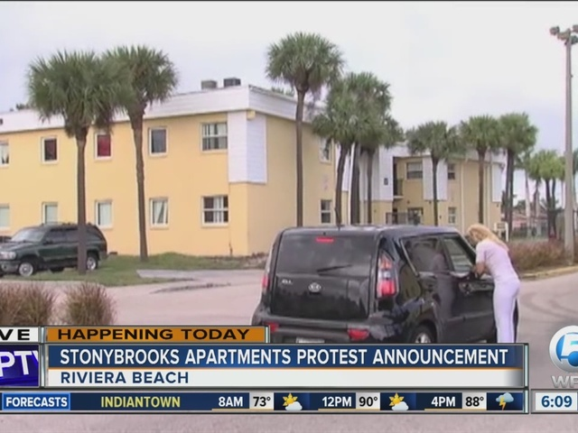 Riviera Beach mayor to announce protest, demonstration against apartment complex