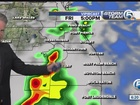 Storms return through the weekend