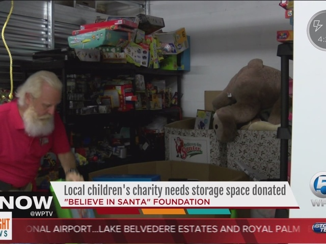 Local children's charity needs storage space donated