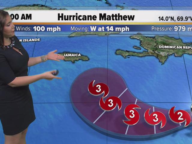 Category 2 Hurricane Matthew lashes Aruba