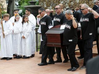 Funeral held for Marlins' Jose Fernandez