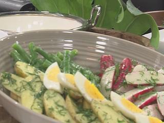 Vegetable Nicoise Salad recipe (10/3/16)