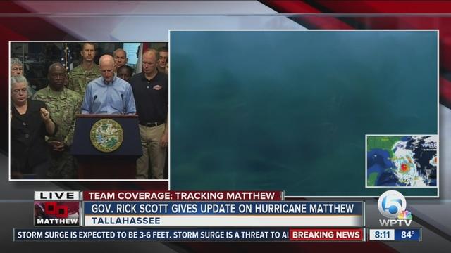 Hurricane Matthew Evacuation Plans For Brevard, Indian River Counties