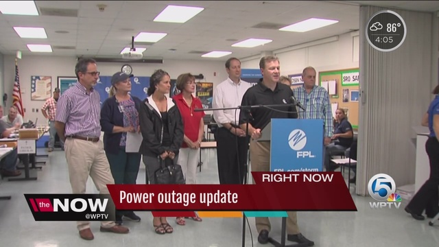 fpl report power outage
