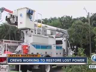 Treasure Coast residents waiting for power