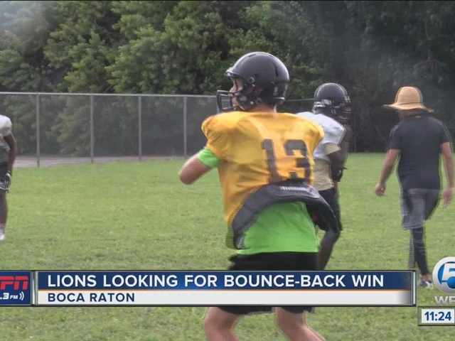 Lions Looking For Bounce-Back Win